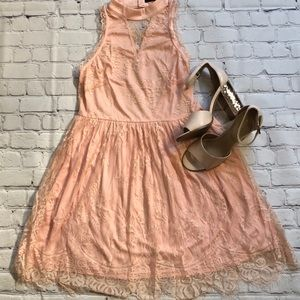Cals Lacey dress perfect for formal nwot